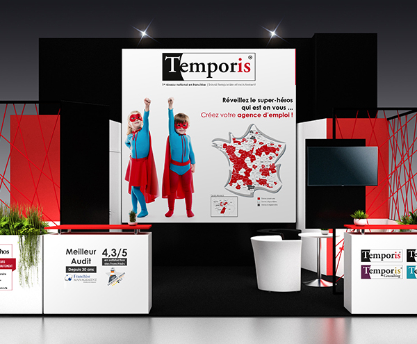 Entreprendre avec Temporis : RDV au salon Franchise Expo Paris !